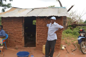 The Water Project: Wamwathi Community -  Standing At Kitchen