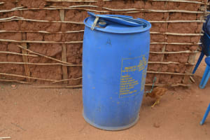 The Water Project: Wamwathi Community -  Water Storage Container