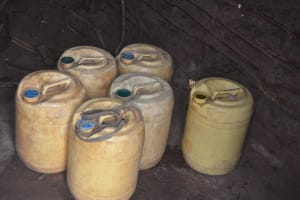 The Water Project: Wamwathi Community -  Water Storage Containers