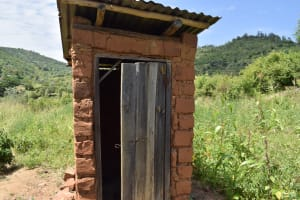The Water Project: Kyamwao Community -  Latrine