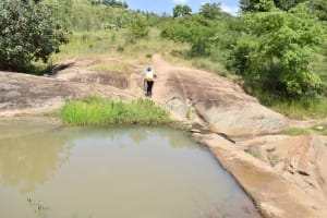 The Water Project: Kyamwao Community -  Returning Home With Water