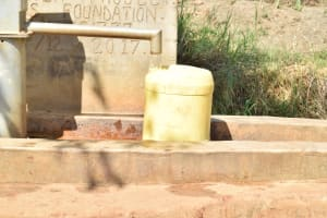 The Water Project: Kithumba Community D -  Collecting Water