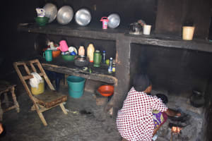 The Water Project: Kithumba Community D -  Cooking