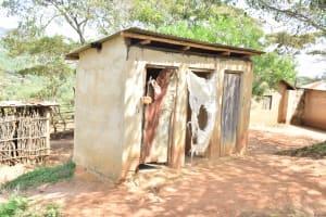 The Water Project: Kithumba Community D -  Latrine