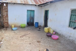 The Water Project: Kithumba Community D -  Water Storage Containers In Household