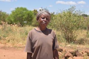 The Water Project: Kathonzweni Community A -  Domitila Kivinya