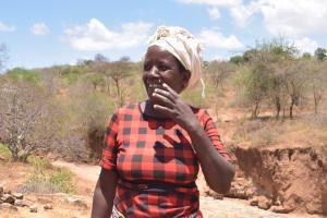 The Water Project: Kathonzweni Community A -  Judith Muema
