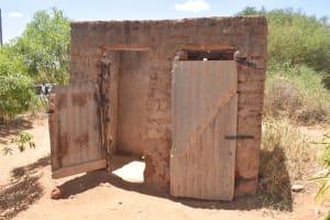 The Water Project: Kathonzweni Community A -  Latrine And Bathroom