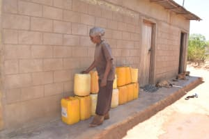 The Water Project: Kathonzweni Community A -  Water Storage Containers