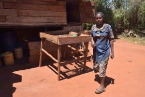 The Water Project: Ngitini Community E -  Dish Drying Rack