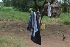 The Water Project: Wamwathi Community A -  Clothesline