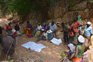 The Water Project: Wamwathi Community A -  Consulting With Shg Members