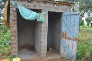 The Water Project: Wamwathi Community A -  Latrines