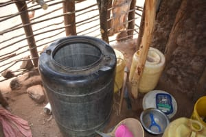 The Water Project: Wamwathi Community A -  Water Storage Containers