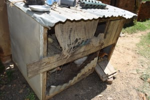 The Water Project: Kyamwao Community A -  Chicken Coop