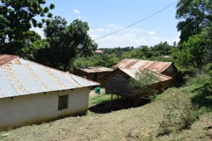 The Water Project: Kyamwao Community A -  Household Compound