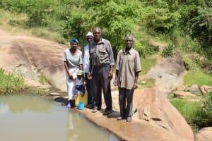 The Water Project: Kyamwao Community A -  Shg Members