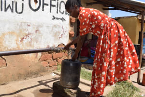 The Water Project: Kyamwao Community A -  Water Kiosk