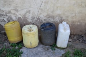 The Water Project: Kyamwao Community A -  Water Storage Containers