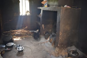 The Water Project: Kithumba Community E -  Inside Kitchen