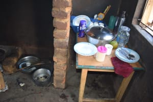 The Water Project: Kithumba Community E -  Kitchen Prep Area