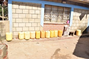 The Water Project: Kithumba Community E -  Water Storage Containers