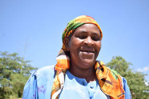 The Water Project: Mitini Community A -  Hannah Kasiola