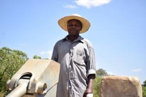 The Water Project: Mitini Community A -  John Kyalo Wambua