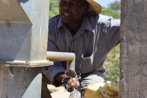 The Water Project: Mitini Community A -  Reliable Water