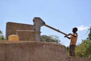 The Water Project: Mitini Community A -  So Easy A Kid Can Fetch Water