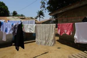 The Water Project: Lungi, Rotifunk, King Fuad Hafis Islamic School -  Clothesline