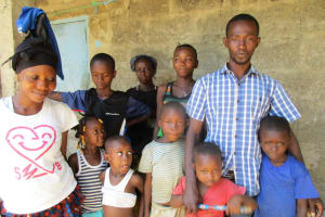 The Water Project: Lungi, Rotifunk, King Fuad Hafis Islamic School -  Family