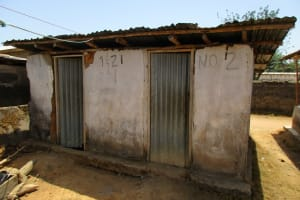 The Water Project: Lungi, Rotifunk, King Fuad Hafis Islamic School -  Latrines