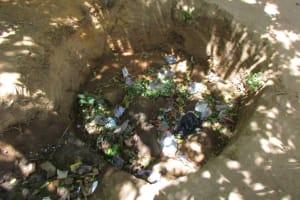 The Water Project: Lungi, Rotifunk, King Fuad Hafis Islamic School -  Trash Pit
