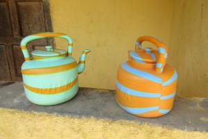 The Water Project: Lungi, Rotifunk, King Fuad Hafis Islamic School -  Handwashing Station