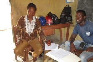 The Water Project: Lokomasama, Menika, DEC Menika Primary School -  Mrs Hannah Kanu Head Teacher