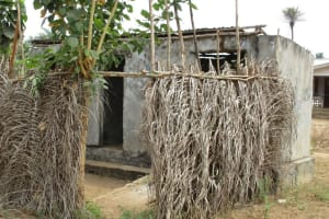 The Water Project: Lokomasama, Menika, DEC Menika Primary School -  School Latrine