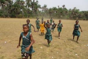 The Water Project: Lokomasama, Menika, DEC Menika Primary School -  Students Playing