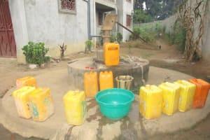 The Water Project: Mahera, SLMB Primary School -  Alternate Water Source