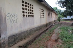 The Water Project: Mahera, SLMB Primary School -  Back Of School Building