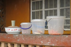 The Water Project: Mahera, SLMB Primary School -  Food In Containers To Be Sold