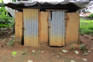 The Water Project: Mahera, SLMB Primary School -  Latrine