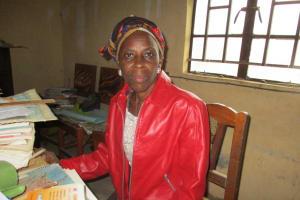 The Water Project: Mahera, SLMB Primary School -  Mrs Rosaline Emmah Kamara