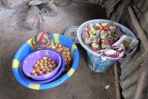 The Water Project: Mahera, SLMB Primary School -  Onions And Canned Goods Meant For Selling