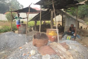 The Water Project: Mahera, SLMB Primary School -  Pot Makers