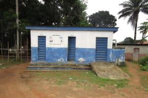 The Water Project: Mahera, SLMB Primary School -  School Latrines