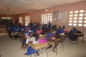 The Water Project: Mahera, SLMB Primary School -  Students In Class