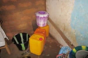 The Water Project: Mahera, SLMB Primary School -  Water Storage