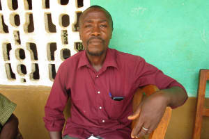 The Water Project: Lokomasama, Bompa, DEC Bompa Primary School -  Almammy S Sesay Head Teacher