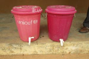The Water Project: Lokomasama, Bompa, DEC Bompa Primary School -  Hand Washing Station